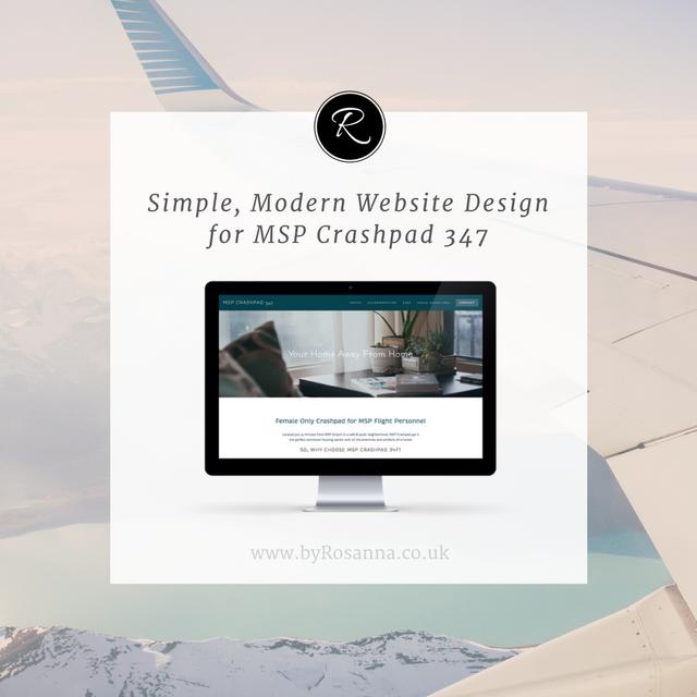 Simple, Modern Website Design for MSP Crashpad 327