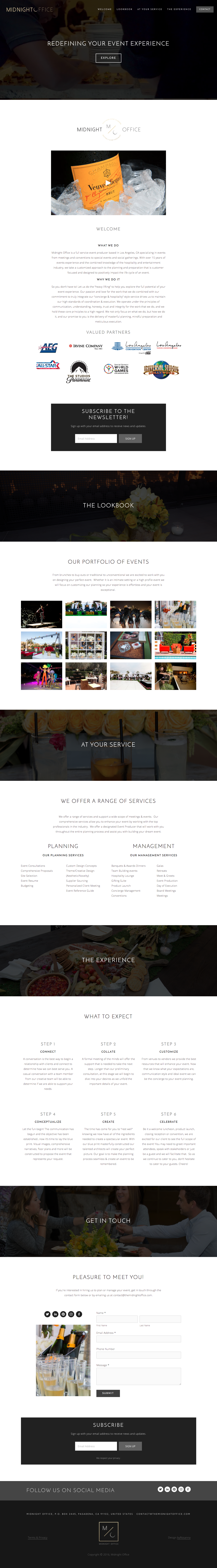 The Midnight Office Website