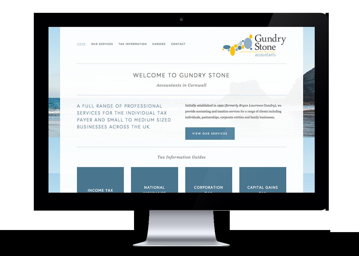 Gundry Stone Website Design