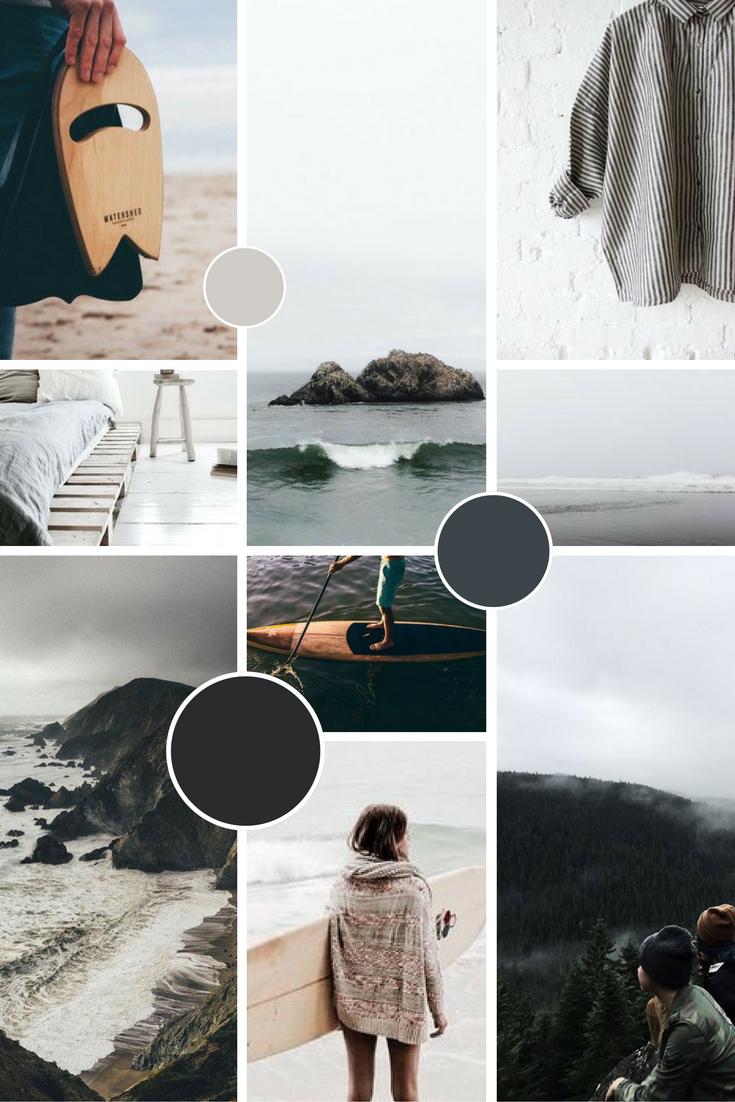 Jen Larkin Brand Moodboard | byRosanna