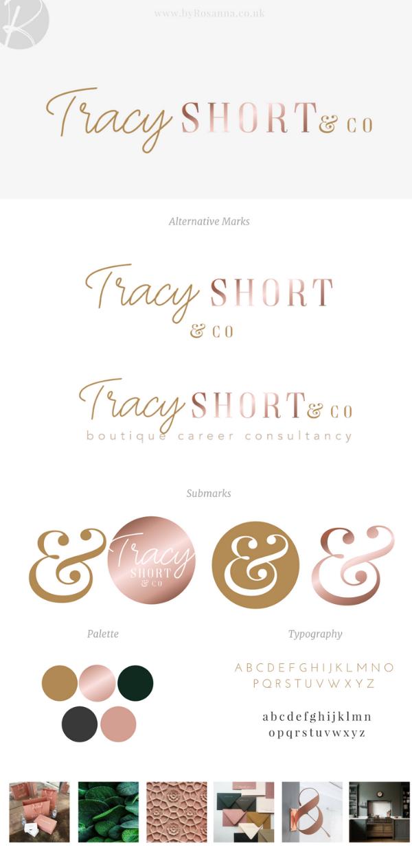 Tracy Short & Co branding | byRosanna