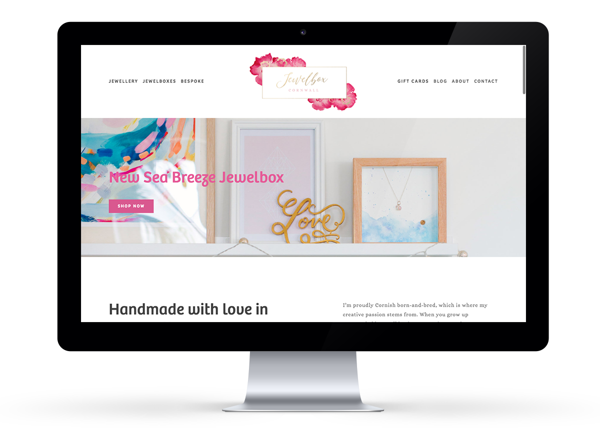 New jewelbox website