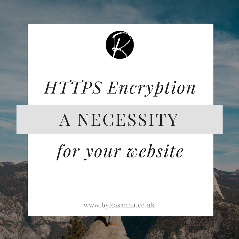 HTTPS Encryption is a necessity for your website