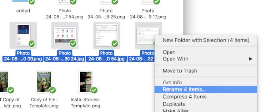 Bulk rename files