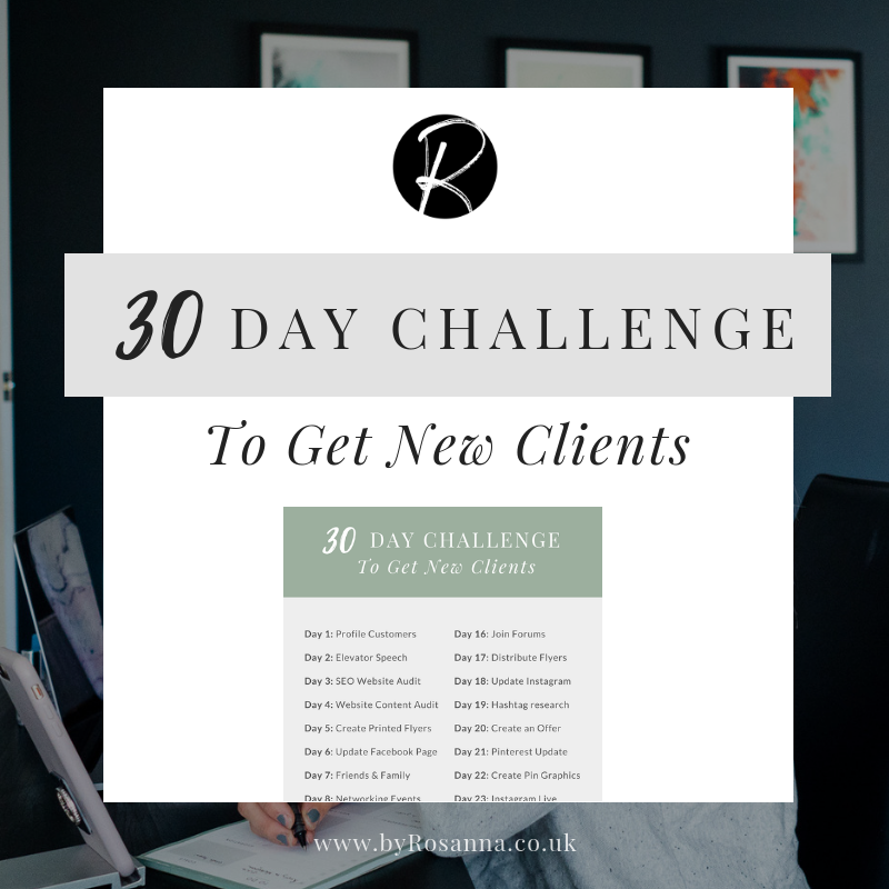 30 Day Challenge to get new clients as a freelancer