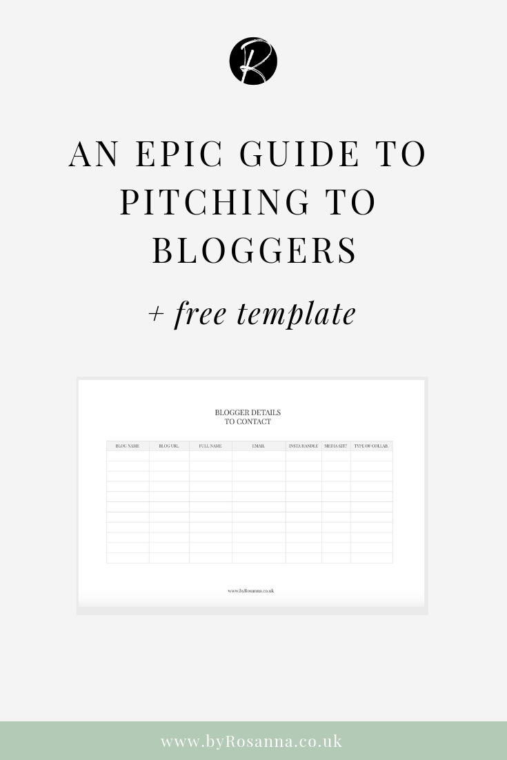 An Epic Guide: Pitching to Bloggers for PR