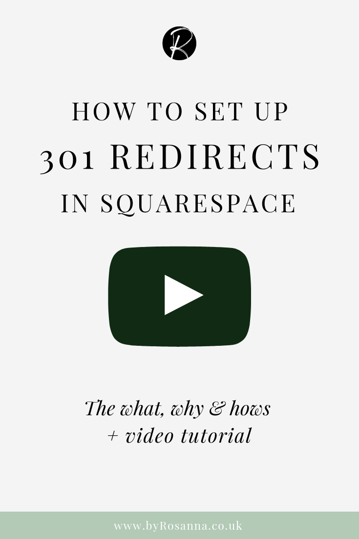 How to Set Up 301 Redirects in Squarespace