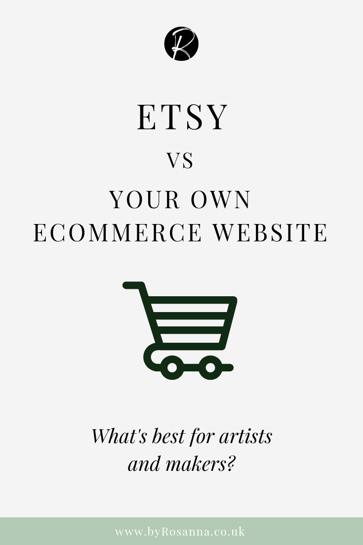 Etsy vs Your Own Ecommerce Website: What's best for artists and makers?