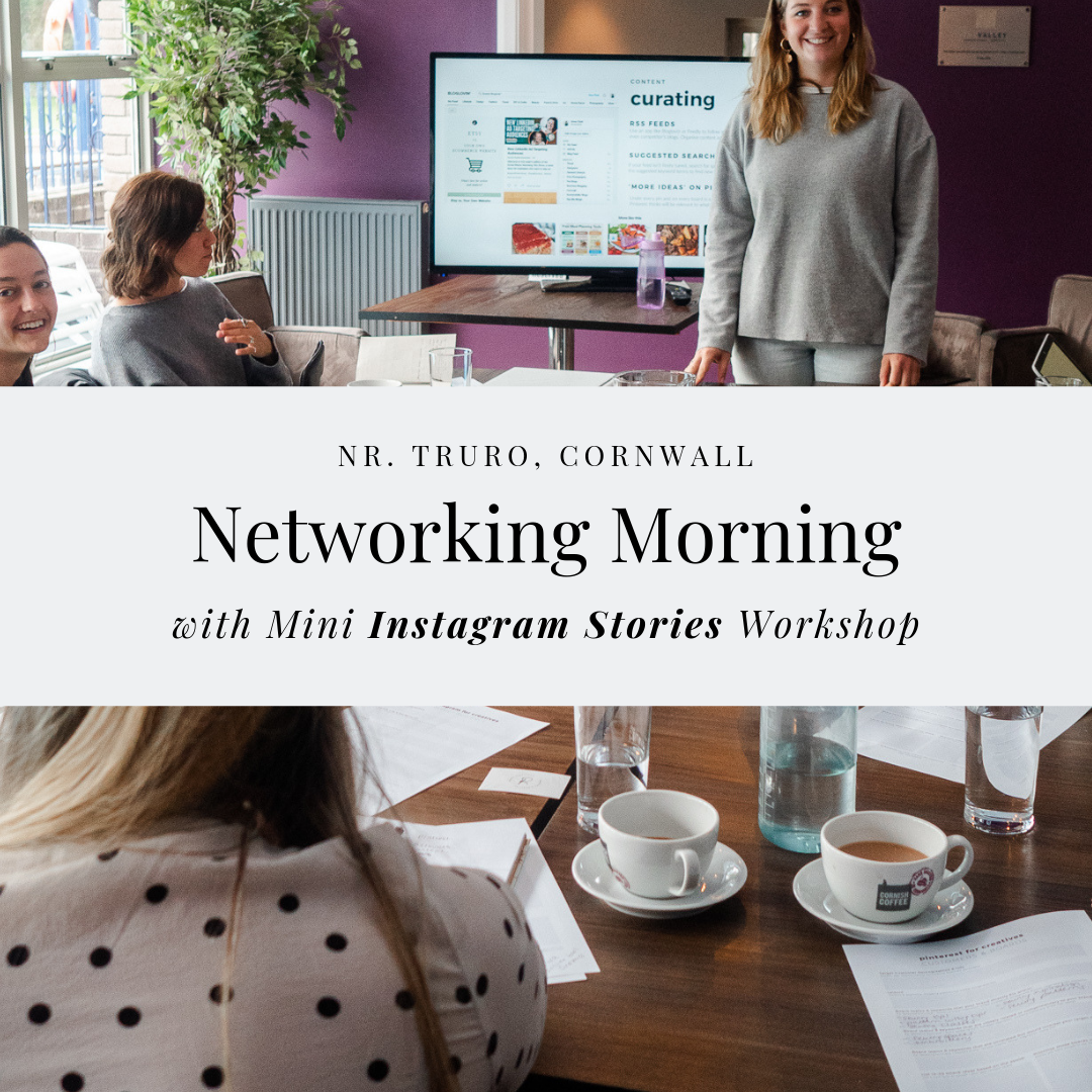 Networking Morning with Instagram Stories Workshop