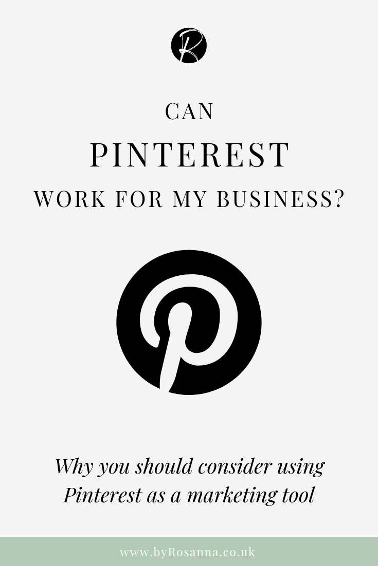 Can Pinterest Work for My Business? Why You Should Use Pinterest as a Marketing Tool for Your Creative Small Business | Pinterest Marketing Tips from byRosanna #pinteresttips #pinterestmarketing