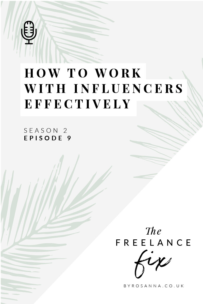How to work with influencers effectively and successfully | Influencer marketing tips from an influencer!