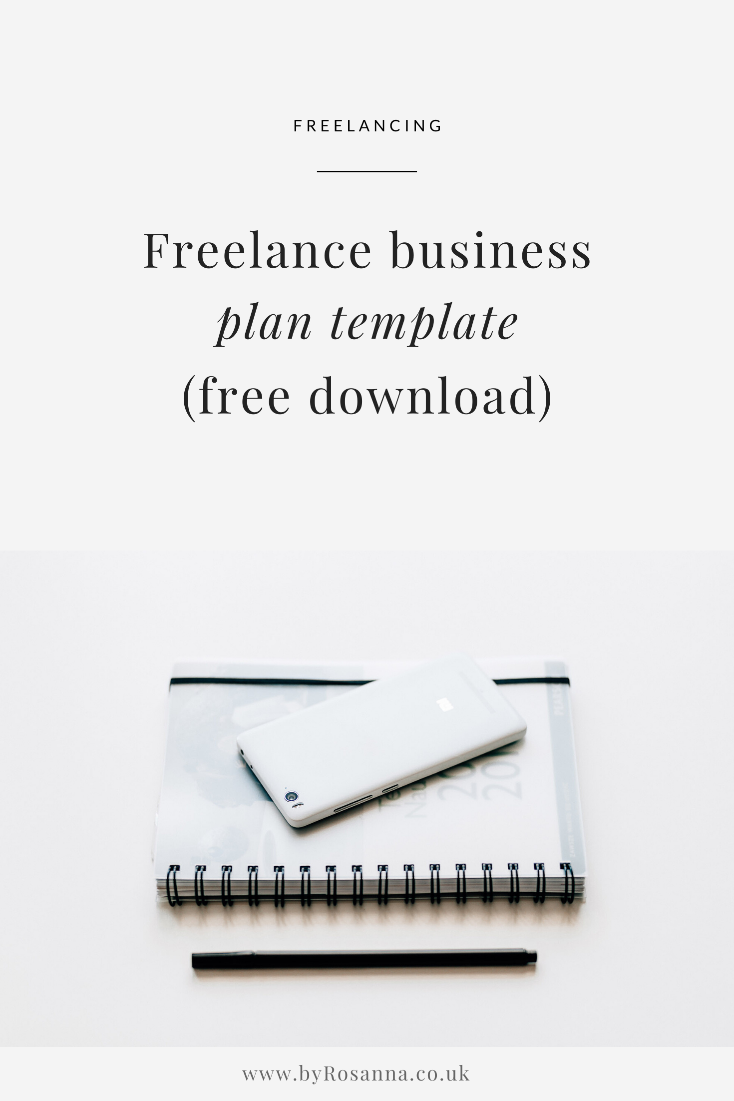 Freelance Business Plan Template Free Download Byrosanna Squarespace Website Design Branding Uk