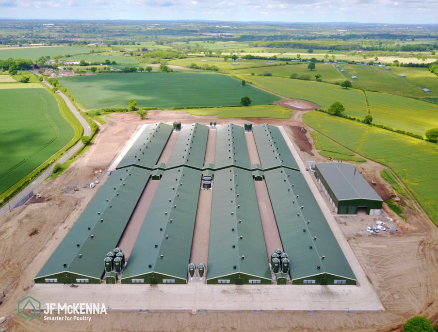 BROILER PROJECT    England   In 2017, JF McKenna completed work on an large 8-house site in the UK.