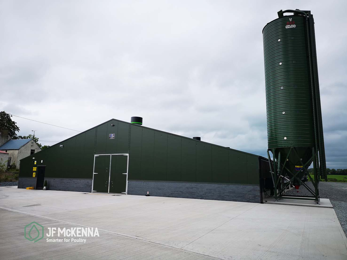 BROILER PROJECT    Republic of Ireland   In 2019, JF McKenna fitted out this impressively finished 40,000 unit poultry house in Monaghan, ROI