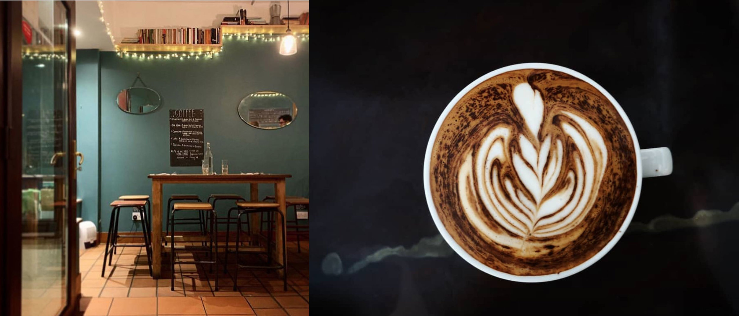 Watch Llanberis go by from Mafon cafe serving Heartland Coffi
