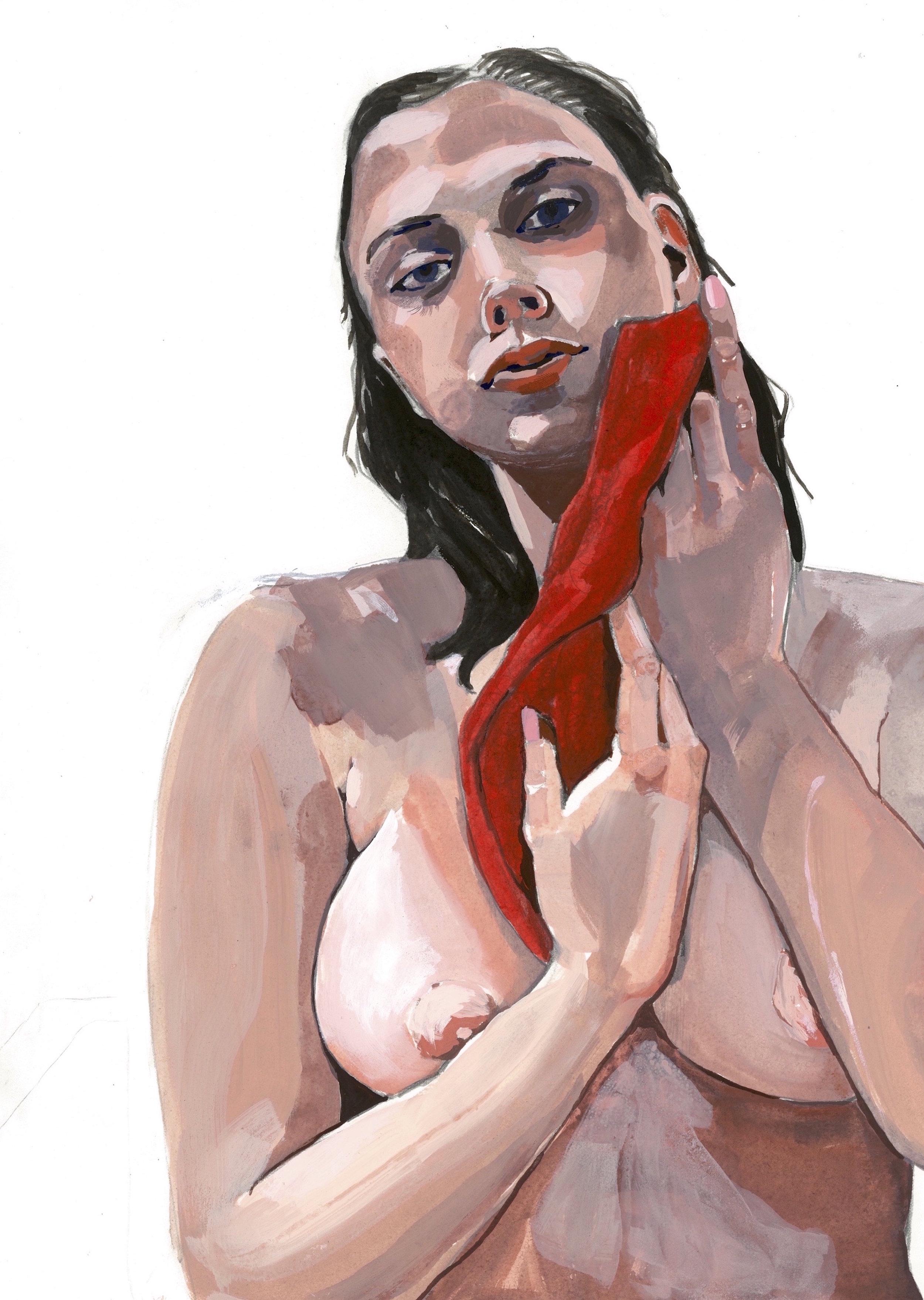 Jess Bathing #4