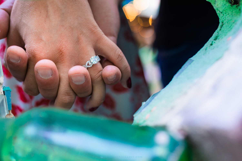 Magic Garden & Tattooed Mom's Engagement