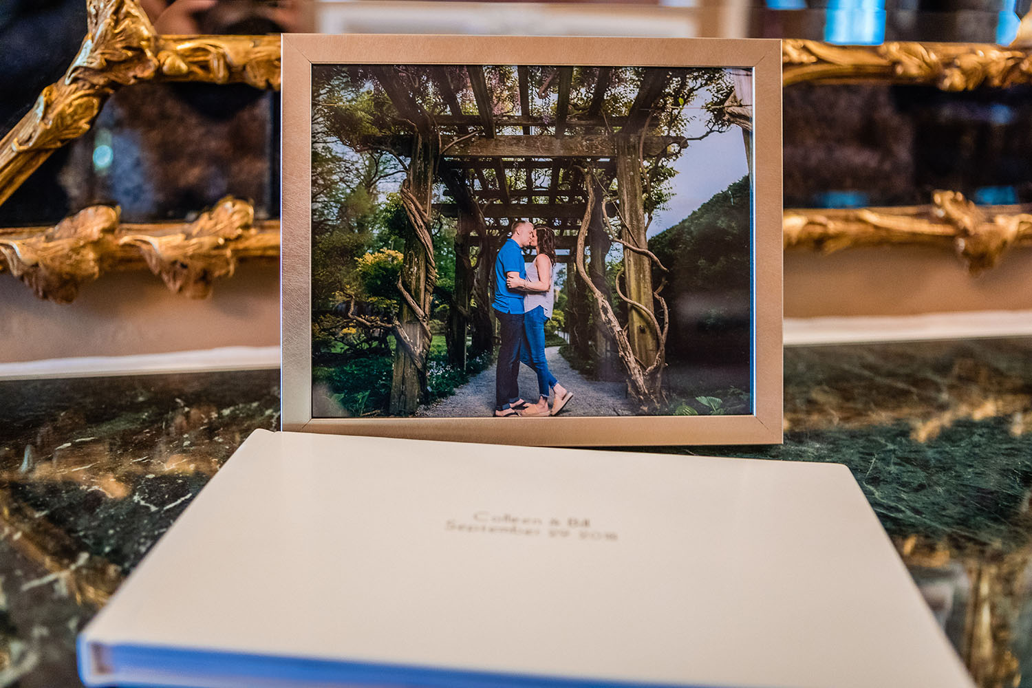 Engagement Album by Morina Photography