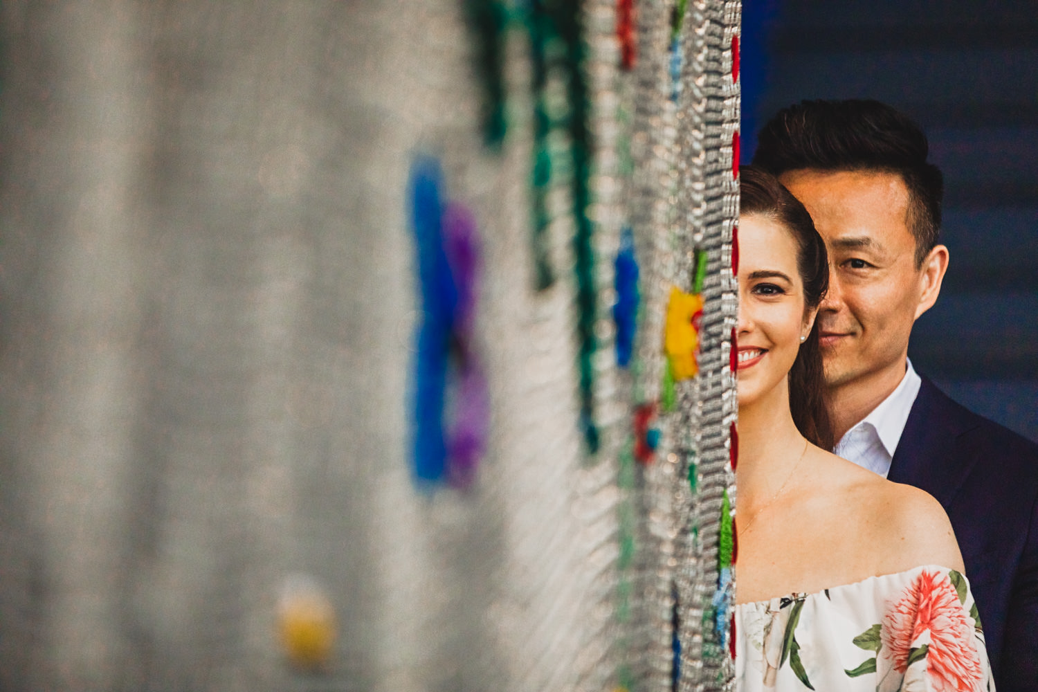 Romantic Old City Engagement session in Philadelphia