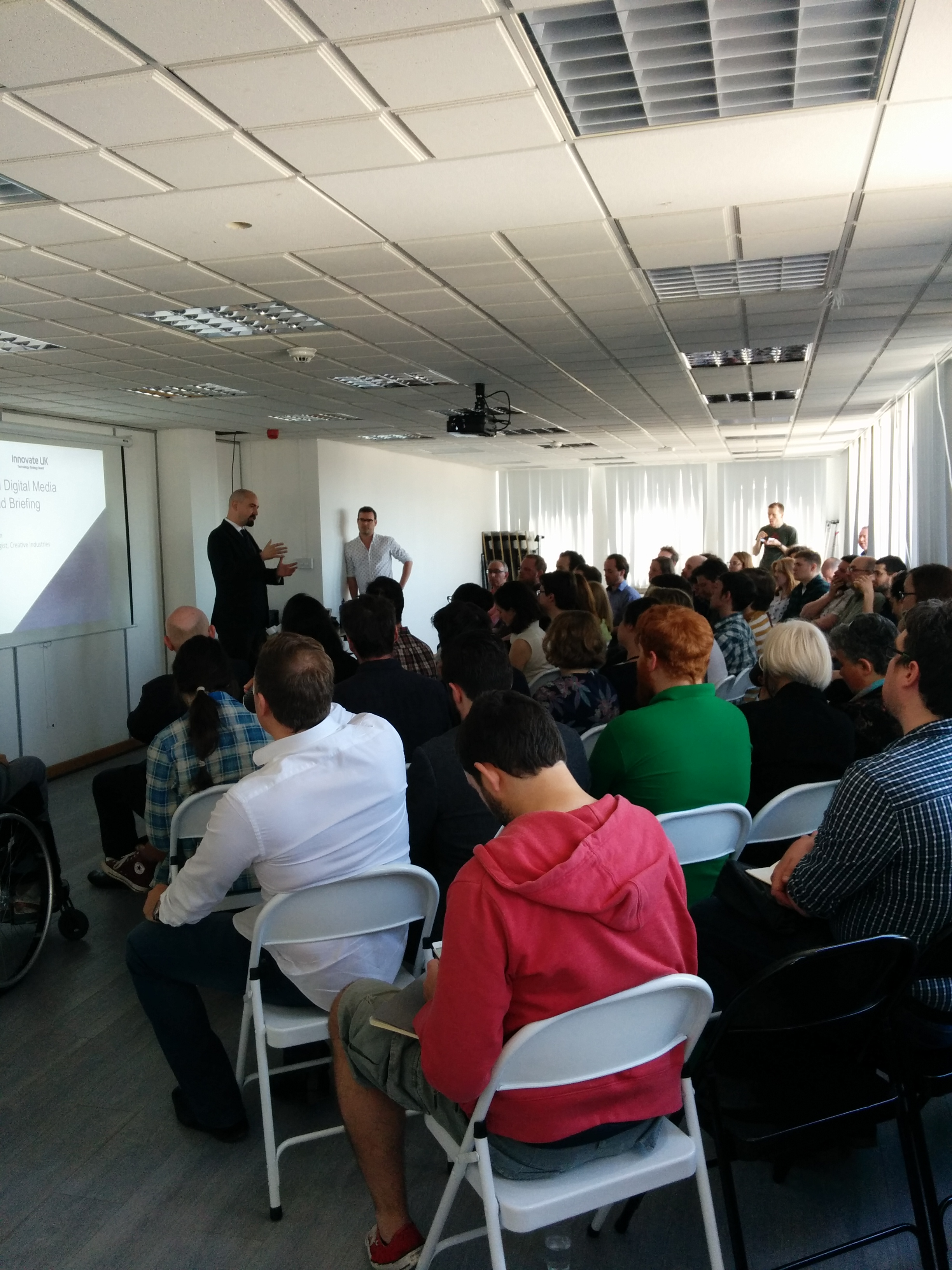 Full house of techies, creatives and entrepreneurs for our Digital Launchpad briefing