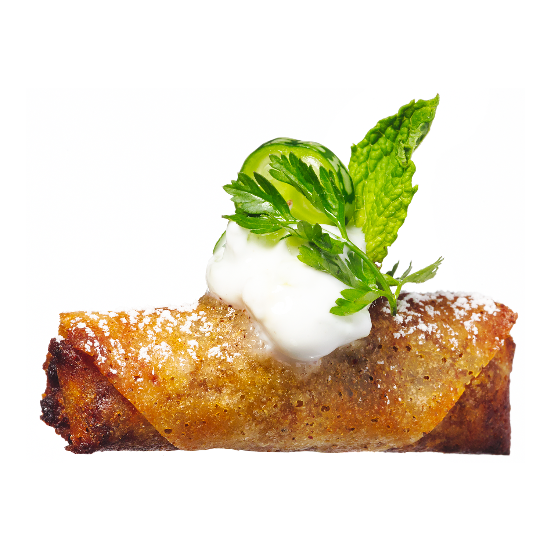 sweet pea samosas