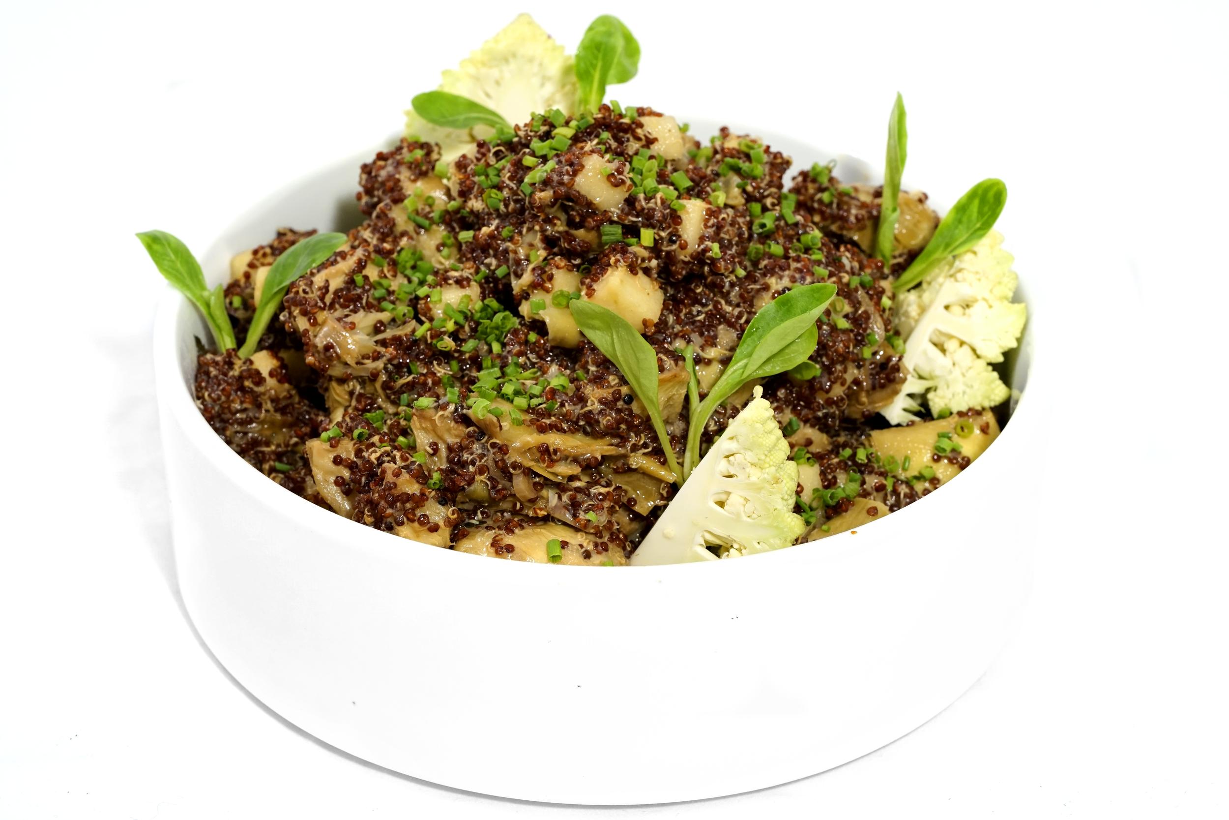 Roasted Artichokes & Quinoa