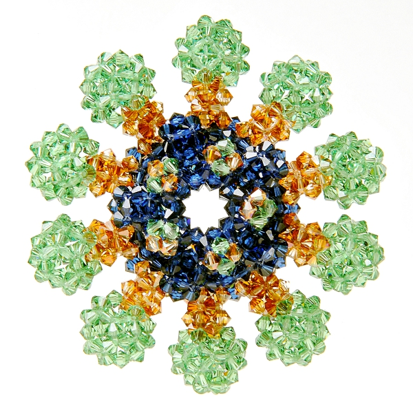 Laura Shea green polydron structure.jpg