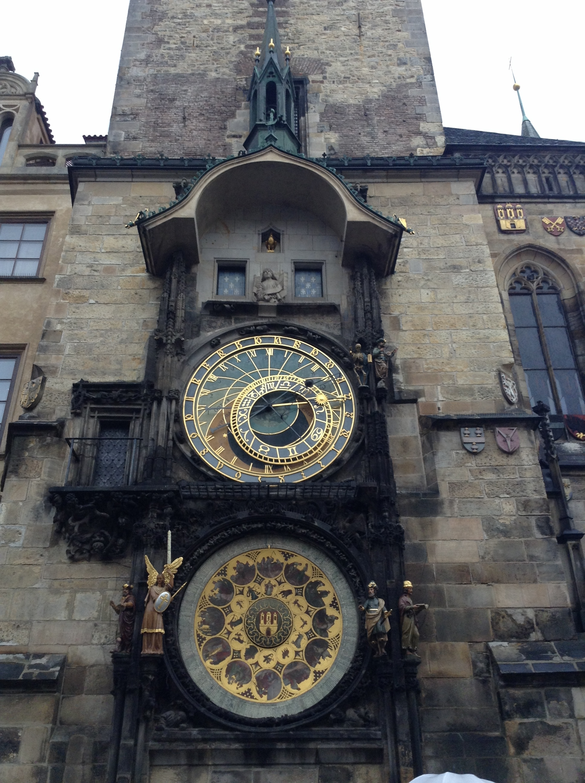 Nothing like learning time management from an unreasonably fancy, centuries old clock.