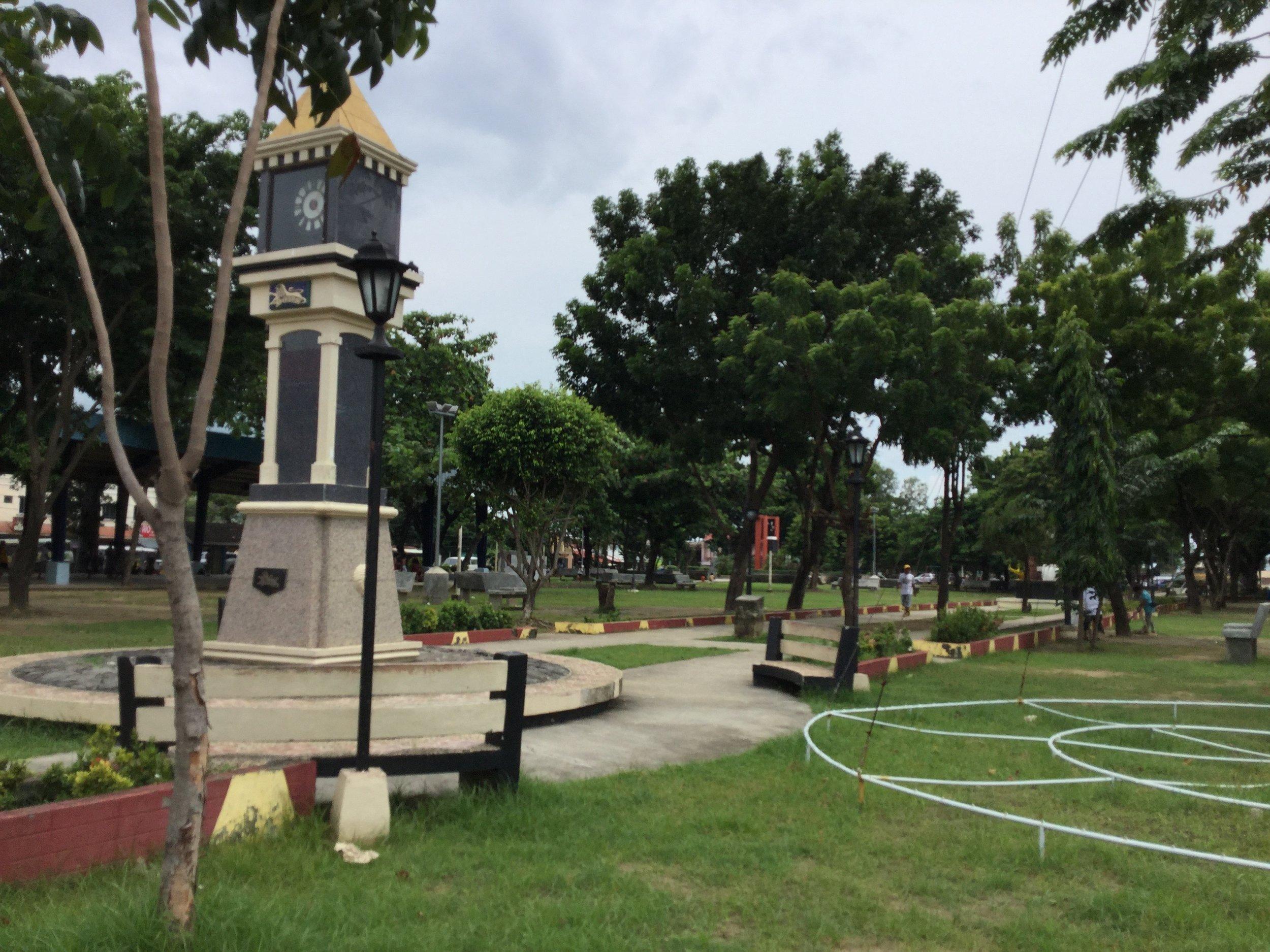 Samonte Park, currently the City's premiere pokestop.