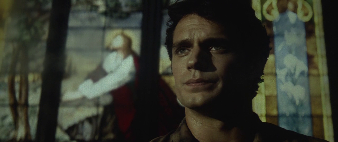 Way to be subtle about it, Zac. (Screencap from Man of Steel)