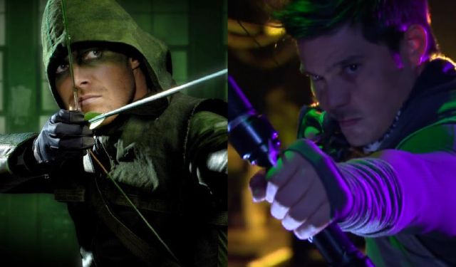 Apparently, they're both knocking-off Robin Hood to begin with. (Photo from LionhearTV.com)