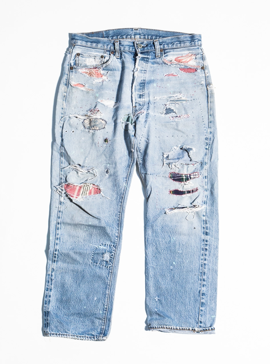 We made the process of repairing your favorite jeans very simple: -