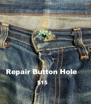 Repair Button Hole
