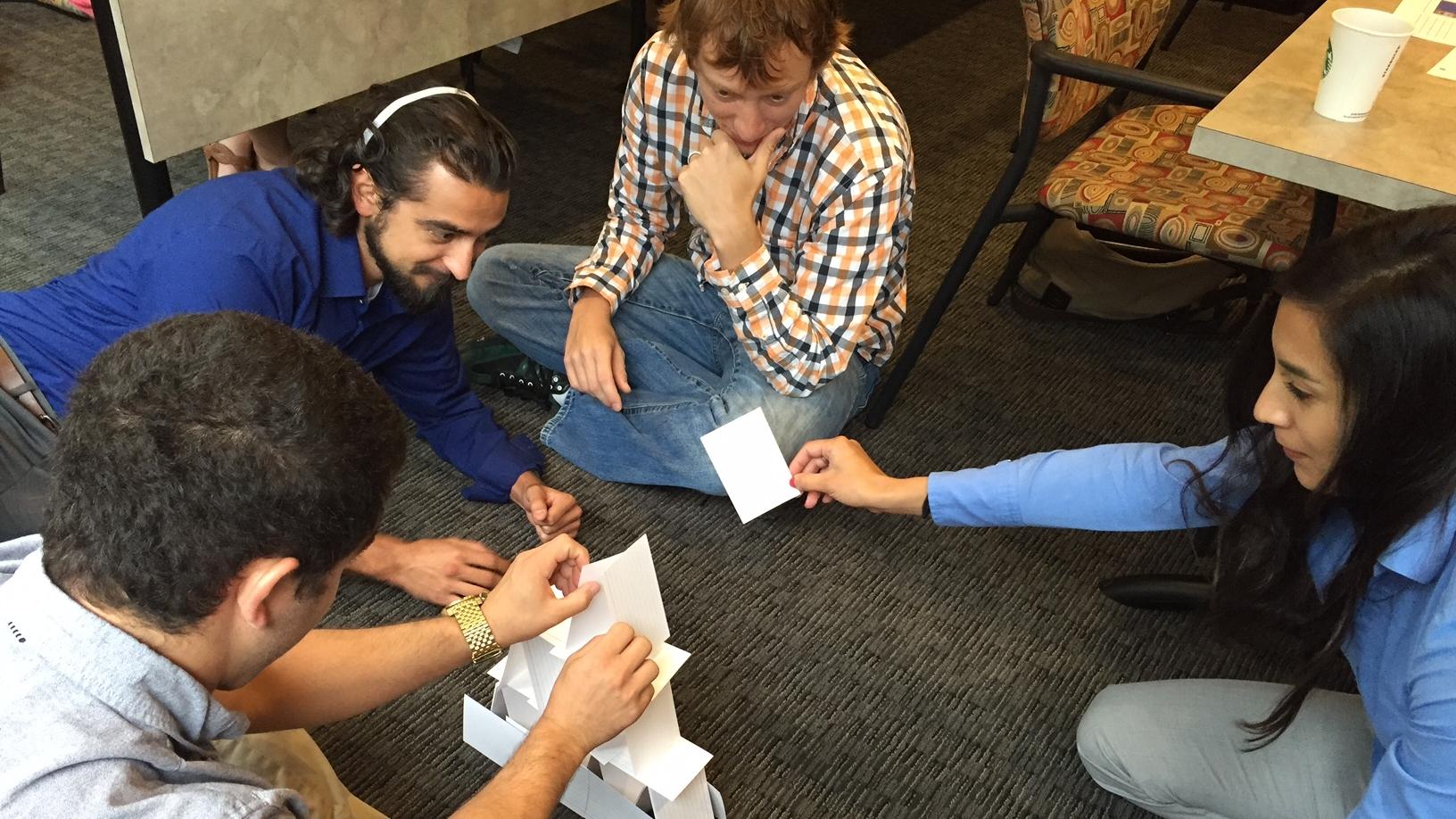 """2016 Bootcamp: Non-verbal team """"building"""""""