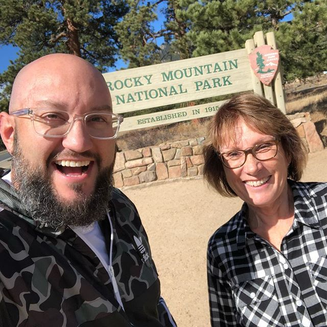 Fun day with my mama! #RockyMountainNationalPark