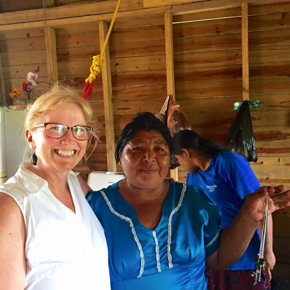 Julie and Dolores in Belize