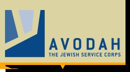 AVODAH: The Jewish Service Corps