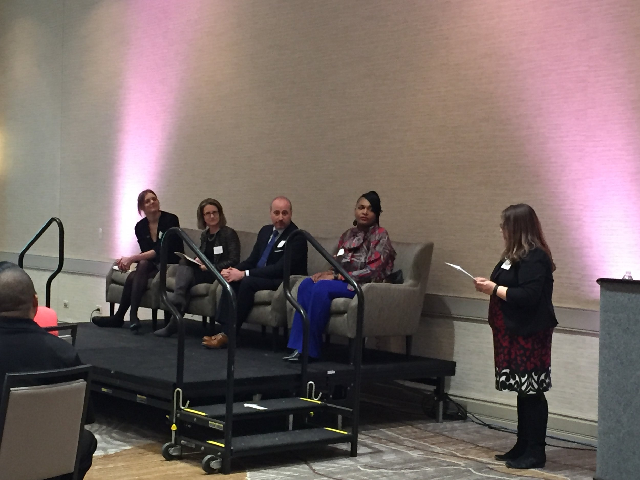 Emily Farr speaks at the Chicago Urban League's  Women's Empowerment Summit  - Emily was honored to speak at the third annual Women's Empowerment Summit in Burr RIdge, IL on March 16, 2018.