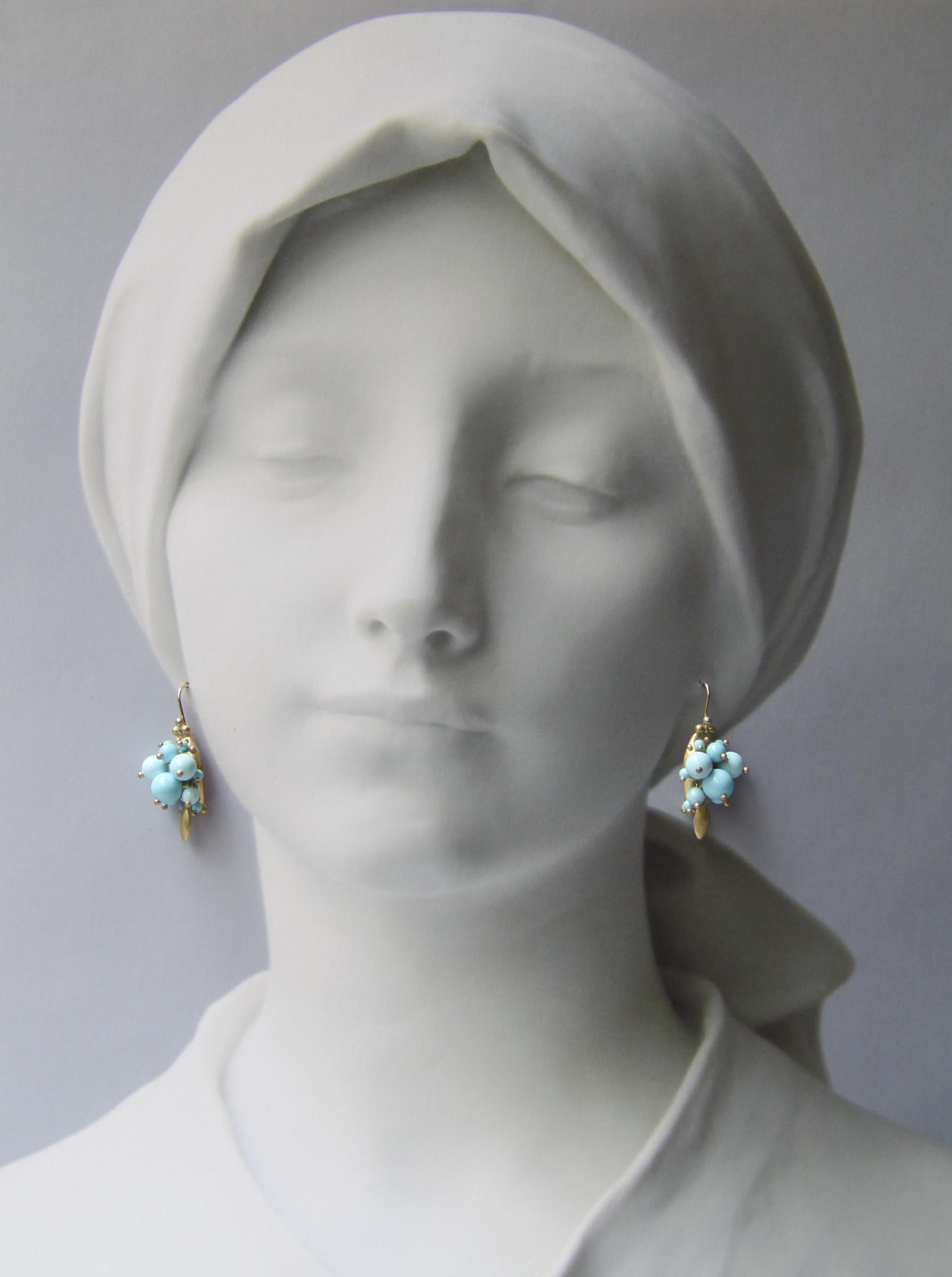 Bug ClusterSleeping Beauty Turquoise