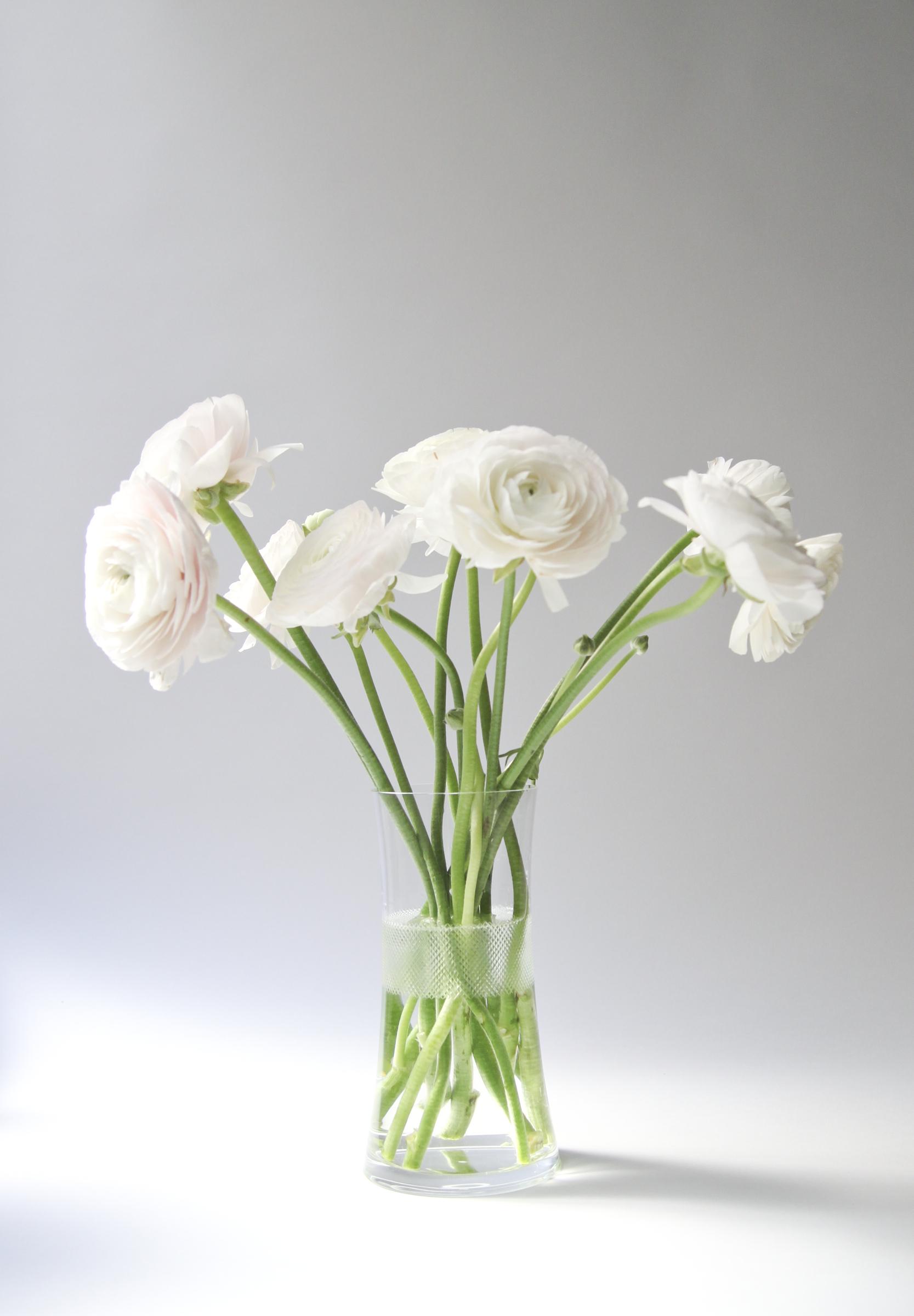 Cross Cut Medium Vase
