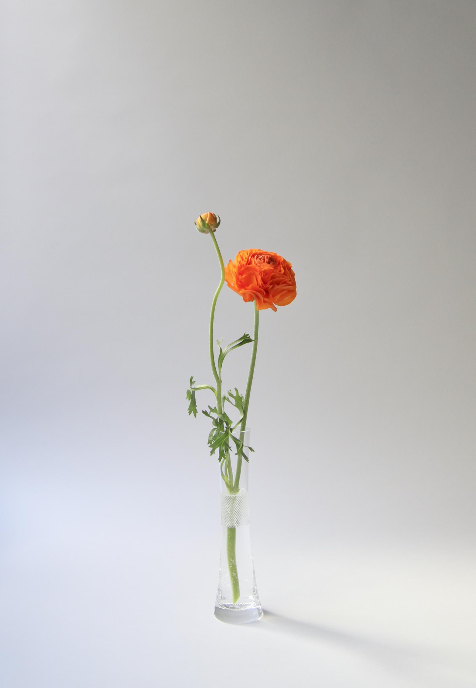 Cross Cut Small Vase