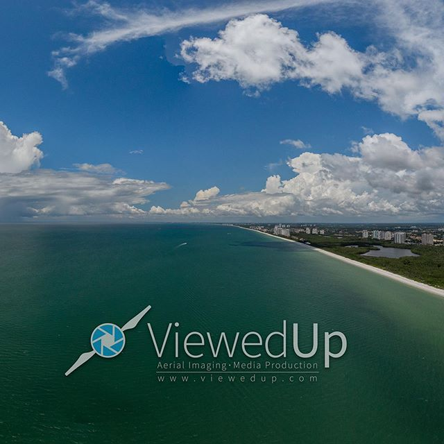 "* SKY PANO * Clam Pass Beach, Naples, Fl looking beautiful from 400ft in the air today! * Fun fact: I captured this while the tide was coming out. The brown water is what's called ""brackish"" water - a mix of river water and seawater. 🚁  #ViewedUp #RaiseYourPerspective #dji #mavic2Zoom #mavic #inspire #flydji #djiglobal #aerialphotography #roamflorida #pureflorida #lovefl #hashtagfl #dronemultimedia #dronestagram #dronepixel #truefpv #dronepilot #dronelife #droneoftheday #dronefolio #uav #drone #droneu #droneav8rs #dronepedia #droningdaily  @pureflorida @drone_multimedia @ig_great_shots_fla @drones4life @thedroneU @visitflorida @naplesjuniorchamber @florida.is @droneav8rs @dronepedia.xyz @baywaterboats @vacationflorida @naplesgranderesort @pelicanbayfl"