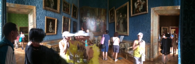 iphone pan pic at Versailles