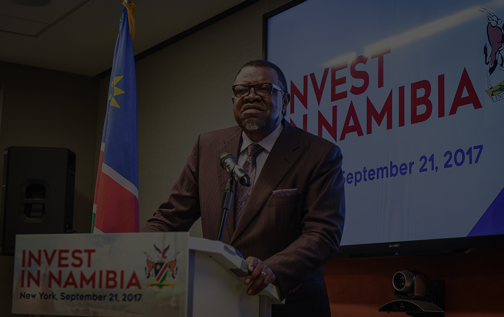Invest in Namibia -
