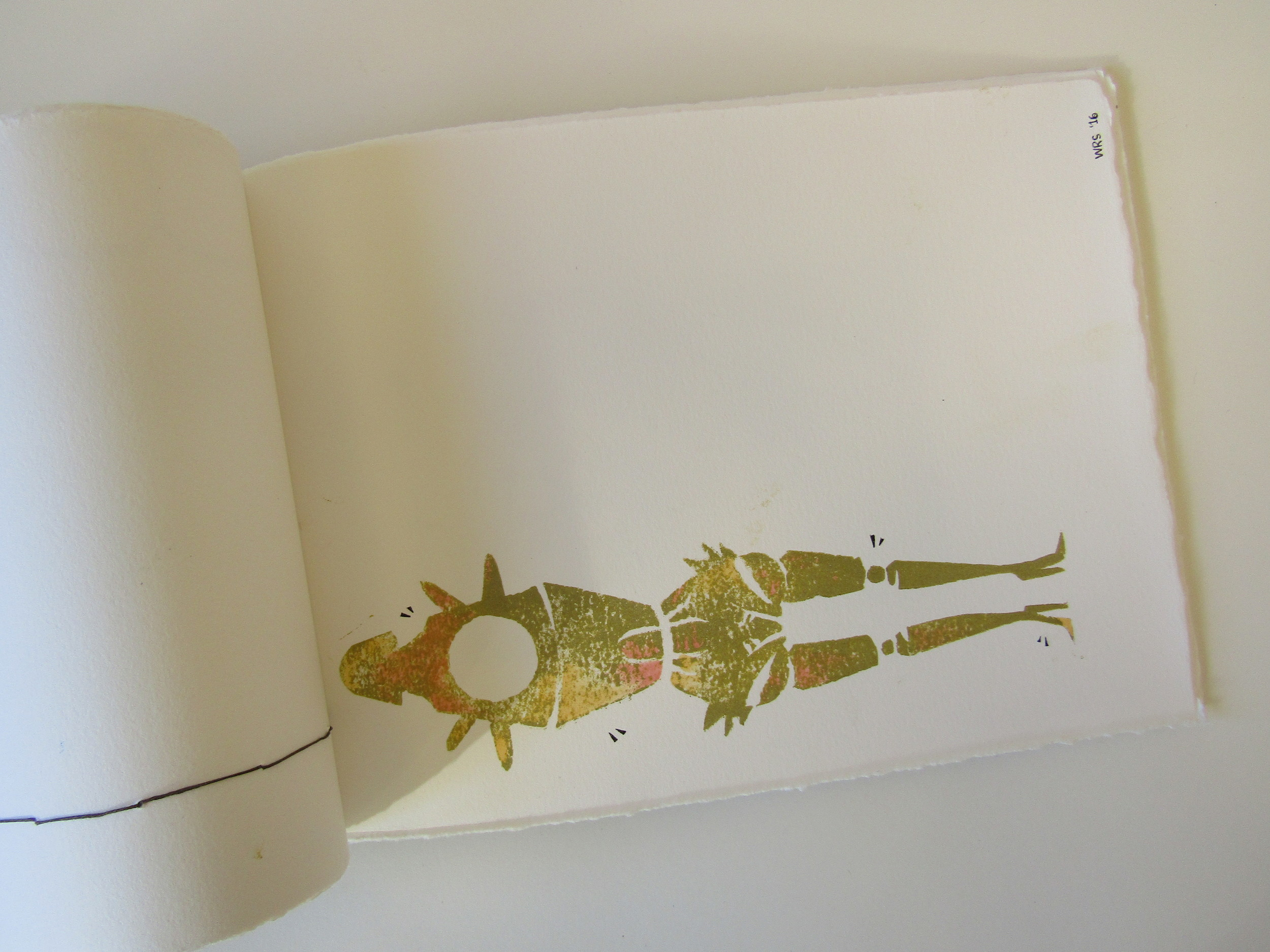 Student Print on Rives BFK Paper