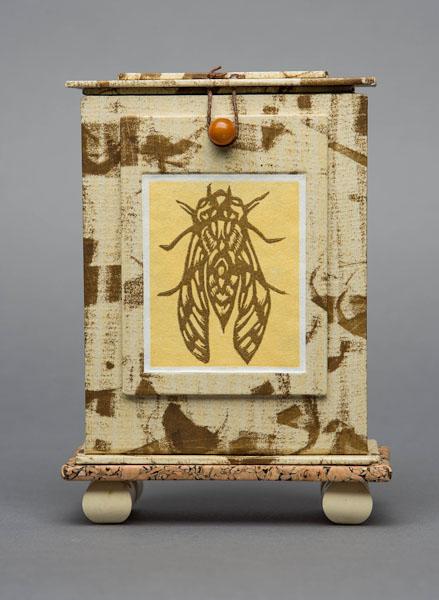 Cicada Reliquary , closed; SOLD