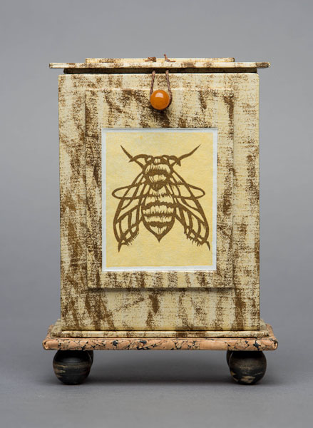 Bee Reliquary , closed