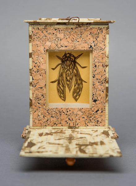 Interior of  Cicada Reliquary .