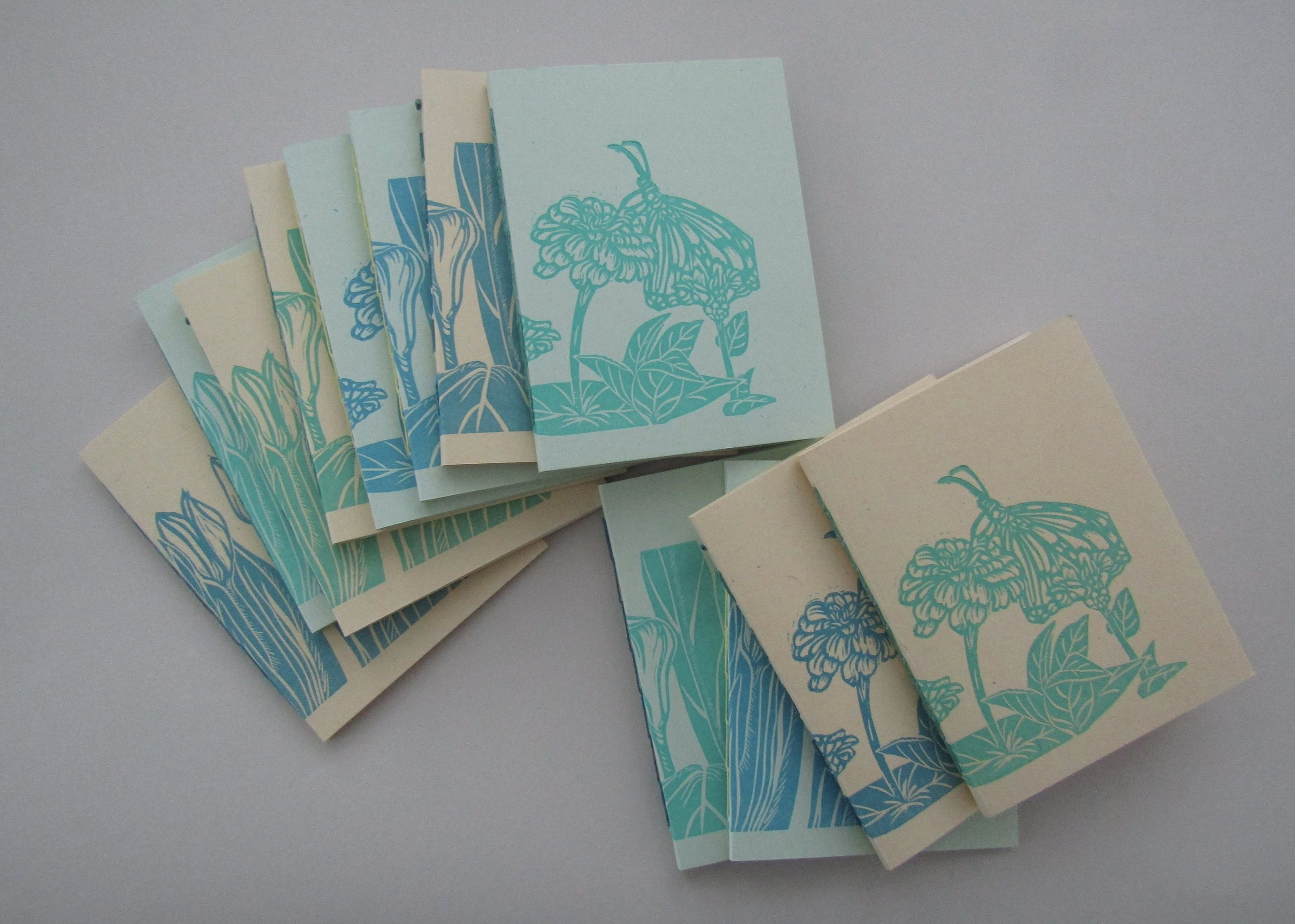 I was quite pleased with the quality of the prints on the French paper!