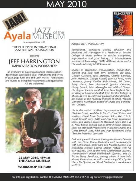 Philippine International Jazz and Arts Festival, Manilla, Philippines